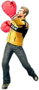 Dead rising boxing gloves combo 3