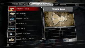 Electric Shout Blueprints