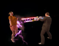 Dead rising Laser Gun shooting