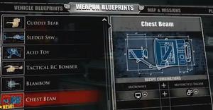 Chest Beam Blueprint 1