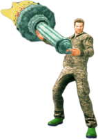 Dead rising liberty torch holding