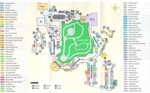 Dead rising mall map