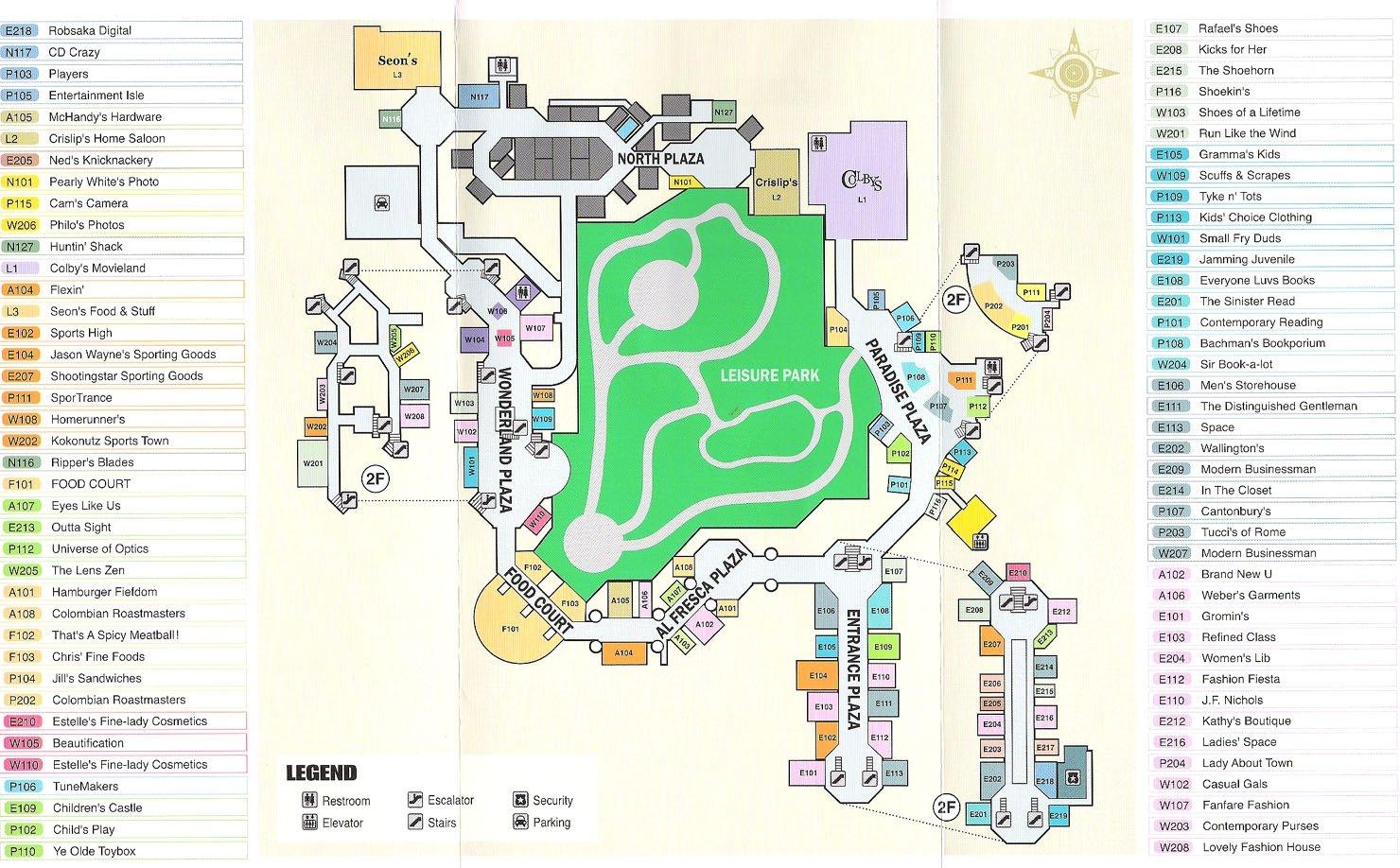 Image - Dead rising mall map.jpg | Dead Rising Wiki | FANDOM powered on