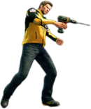 Dead rising power drill combo
