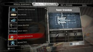 Super Crossbow Blueprints