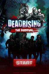 Dead rising the survival start screen
