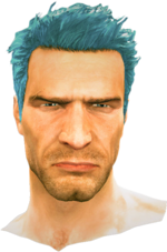 Dead rising Blue Hair