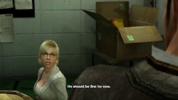 Dead rising case barnaby and jessie talk close door (2)