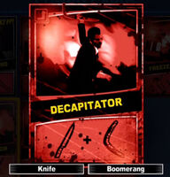 Dead rising decapitator scratch card