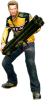 Dead rising rocket launcher holding