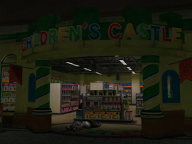 Children's Castle Sign