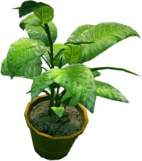 Dead rising Small Potted Plant 3