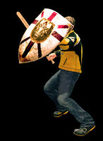 Dead rising training sword combo (6)