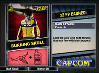 Dead rising 2 combo card Burning Skull