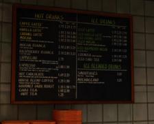 Columbian Roastmasters Drinks Menu