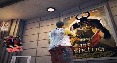 Dead rising Holy Arms poster location