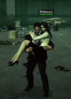 Frank Carries Rebecca