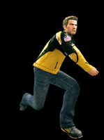 Dead rising football thrown
