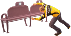Dead rising space bench main