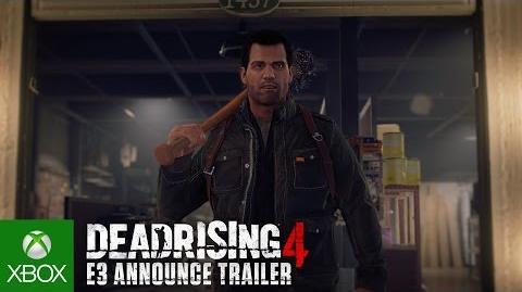 Dead Rising 4 E3 Announce Trailer