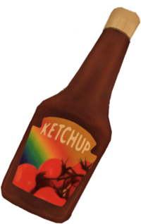 Dead rising Ketchup
