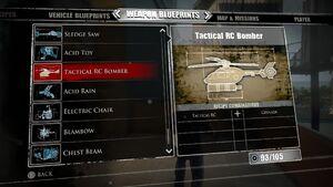 Tactical RC Bomber Blueprints