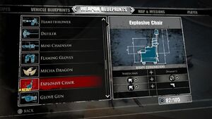 Explosive Chair Blueprints