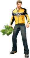Dead rising small potted plant holding