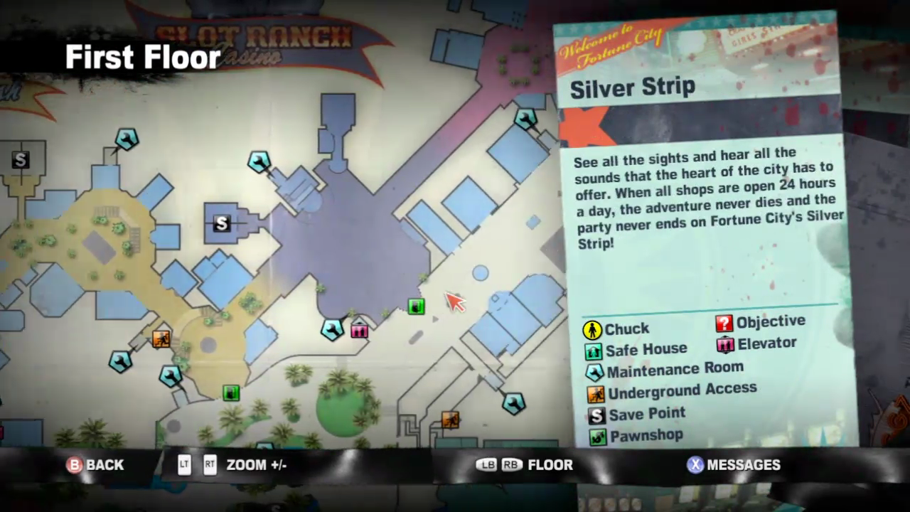 Silver Strip | Dead Rising Wiki | Fandom on everybody's gone to the rapture map, dante's inferno map, left 4 dead map, hyrule warriors map, sunset overdrive map, midtown madness map, dead trigger map, crash twinsanity map, red dead map, infamous first light map, grand theft auto: san andreas map, dead island map, crimson alliance map, homefront map, dead space map, l.a. noire map, the evil within map, the walking dead map, mass effect map, h1z1 map,
