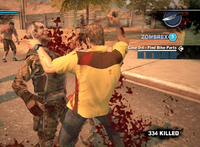 Dead rising case 0 chef knife strong attack