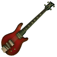 Dead rising Bass Guitar (Dead Rising 2)