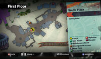 Dead rising toy manor south plaza MAP