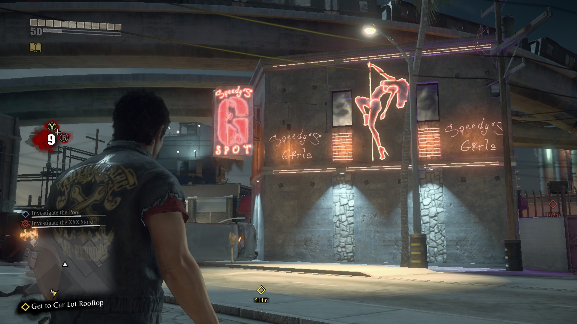 Speedys g spot dead rising wiki fandom powered by wikia speedys g spot malvernweather Image collections
