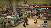 Dead Rising 2 - Corta de vista - Esther en la tienda