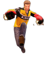 Dead rising flaming gloves jump