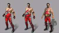 Dead rising 2 Off the Record concept art from main menu art page frank as wrestler (1)