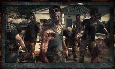 Dead rising 3 zombies in nick's yard