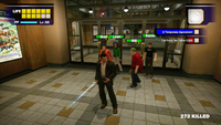 Dead rising escorting 5 survivors first day 2 food court fresca door