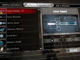 Laser Sword (Dead Rising 3)
