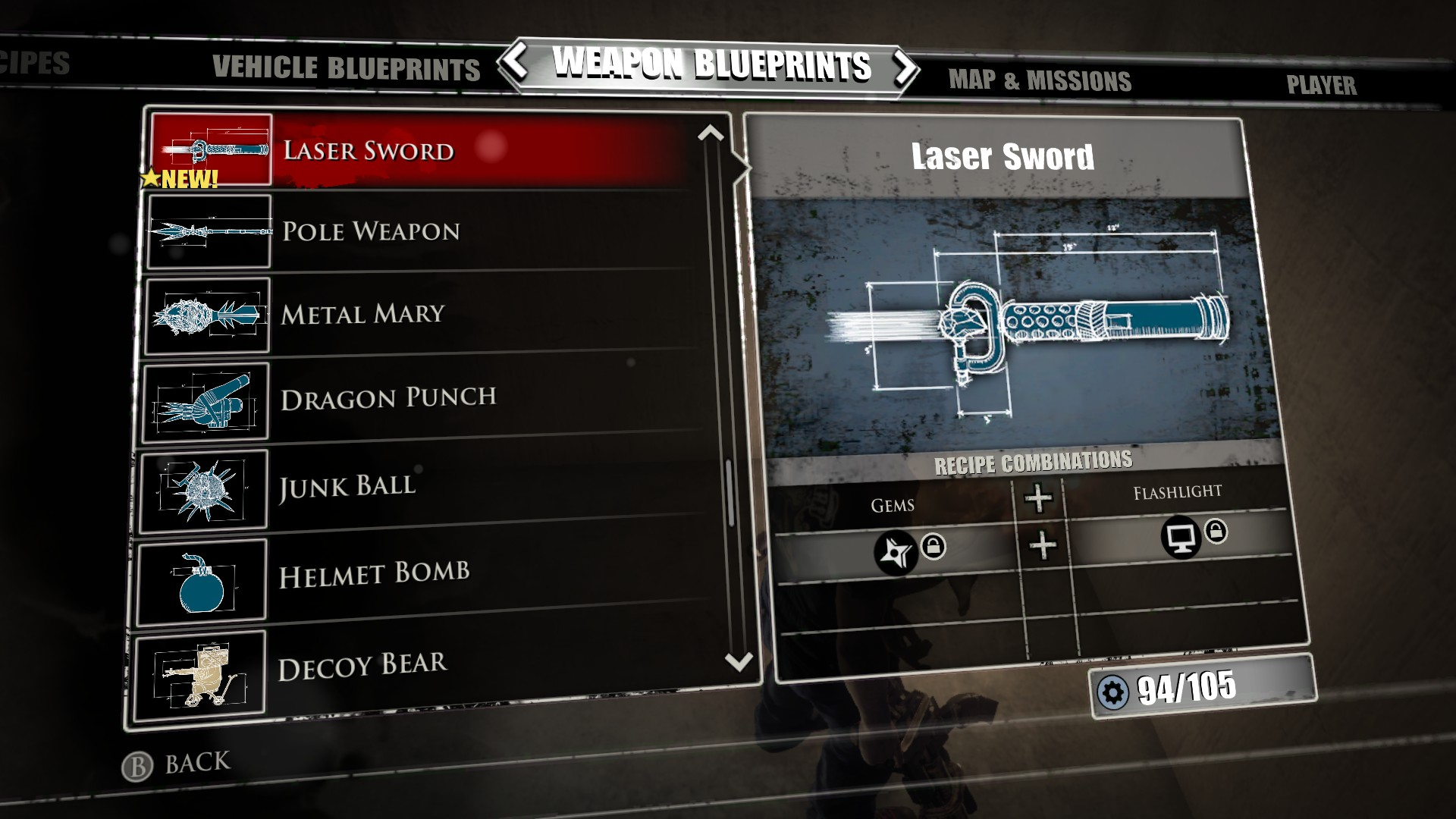 Laser sword dead rising 3 dead rising wiki fandom powered by laser sword dead rising 3 malvernweather Images