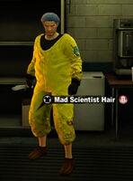 Dead rising mad scientist hair name
