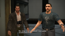 Dead Rising - James en la tienda de armas
