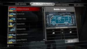 Mobile Locker Blueprints