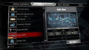 Split Shot Blueprints