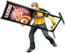 Dead rising square sign combo