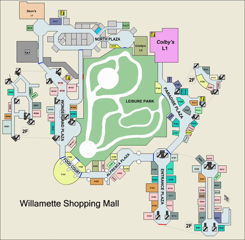 Paradise Valley Mall Map Dead Rising Map | Dead Rising Wiki | FANDOM powered by Wikia Paradise Valley Mall Map