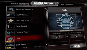 I.E.D. Blueprint
