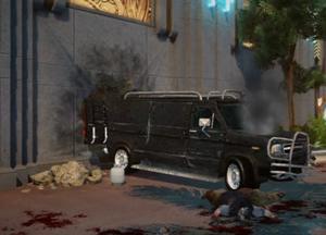 Armored Van