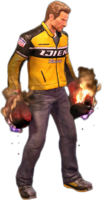Dead rising flaming gloves holding
