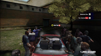 Dead rising vehicle lights